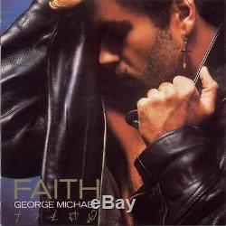 GEORGE MICHAEL inscribed and signed FAITH RECORD album, autograph, RARE