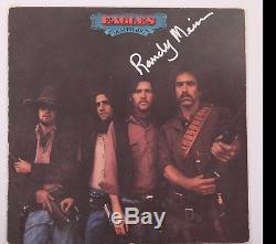GFA Eagles Band RANDY MEISNER Signed Vinyl Record Album AD2 COA