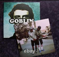GFA Goblin Vinyl TYLER THE CREATOR Signed New Record Album COA