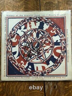 GRATEFUL DEAD JERRY GARCIA SIGNED RECORD ALBUM (Vol 1 and Vol 2)