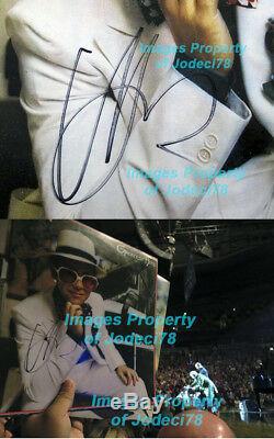 GREATEST HITS Elton John Signed Vinyl Album EXACT Proof JSA COA