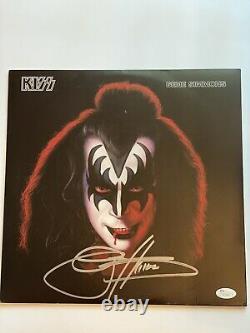 Gene Simmons signed Solo Album JSA V73646 (2)
