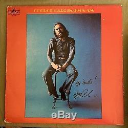 George Carlin Autographs Fm & Am 1972 Hippie Dippy Comedy Record Album