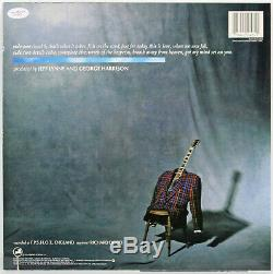 George Harrison Authentic Signed Cloud Nine Album Cover With Vinyl BAS #X10361