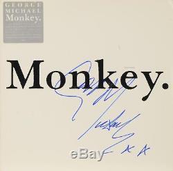 George Michael Autographed Monkey Album Cover PSA/DNA COA