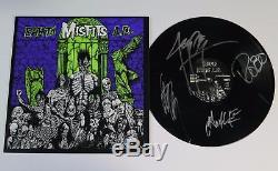 Glenn Danzig MISFITS Signed Autograph Earth A. D. Album Vinyl Record LP by 4