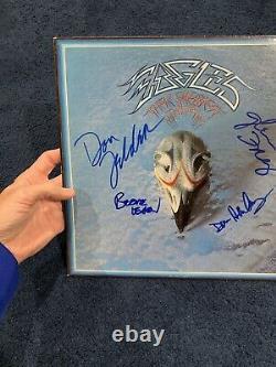Glenn Frey Don Henley Leadon Felder Signed Eagles Greatest Hits Album Beckett