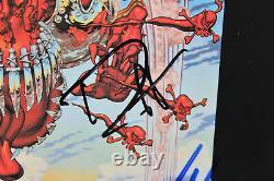 Guns N' Roses (4) Signed Appetite For Destruction Album Insert BAS #A68521