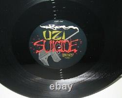 Guns N' Roses Signed Live Like A Suicide Album Record Slash Duff Mckagan X2
