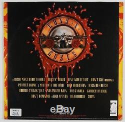 Guns N Roses Slash Duff Dizzy Matt JSA Autograph Signed Album Illusions Record