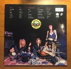 Guns N' Roses Slash Signed Appetite For Destruction Album Jsa/loa Y95231