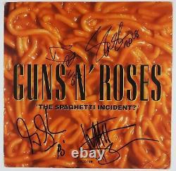 Guns n Roses JSA Signed Autograph 12 Album Flat Record Slash Duff McKagan