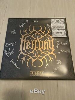 HEILUNG Signed Autographed FUTHA LE500 Vinyl 2 LP Album Record VERY RARE
