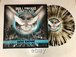 HOLLYWOOD UNDEAD AUTOGRAPHED SIGNED NEW EMPIRE VINYL LP ALBUM JSA COA # ii02154