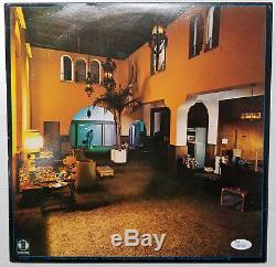 HOTEL CALIFORNIA EAGLES SIGNED AUTOGRAPHED LP RECORD ALBUM JSA COA Full Letter