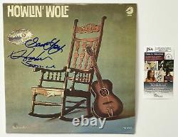 HOWLIN WOLF HUBERT SUMLIN Autograph Signed Chicago Golden Years Album Record L