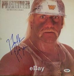 HULK HOGAN Autographed Signed PILEDRIVER Vinyl Record Album PSA DNA CERT COA