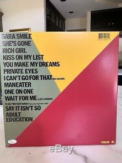 Hall & Oates Autographed Album LP With Record JSA Rock N' Soul Part 1