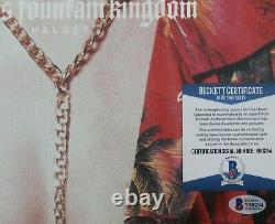 Halsey Signed Hopeless Fountain Kingdom Album Cover withBeckett BAS COA Y80294