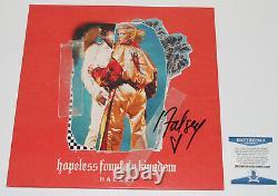 Halsey Signed Hopeless Fountain Kingdom Vinyl Album Record Lp Beckett Coa Bas