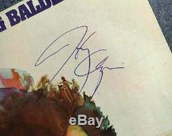 Harry Chapin Vintage Signed Verities & Balderdash Lp Cats In The Cradle Album