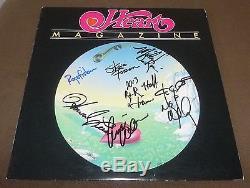 Heart Full Band Signed Magazine Record Album Ann Nancy Wilson Lp Vinyl