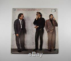Huey Lewis & the News Fore Autographed Signed Record Album LP JSA COA