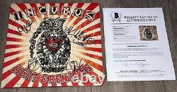 INCUBUS BRANDON BOYD +4 SIGNED LIGHT GRENADES ALBUM wEXACT PROOF BECKETT BAS LOA