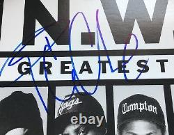 Ice Cube Signed Album Cover Jsa Coa Autographed No Record Nwa Greatest Hits