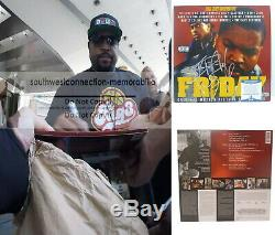 Ice Cube Signed Autographed Friday Vinyl Record Album Proof Beckett BAS S38077