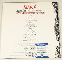 Ice Cube Signed Straight Outta Compton Vinyl Lp Album Nwa Bas 817