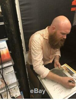 Idles Brutalism Hand Signed Record Lp Autographed