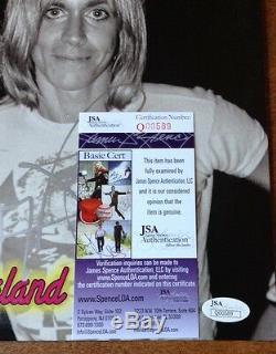 Iggy Pop Signed Autographed Cleveland 77 Vinyl Record Lp Album Jsa
