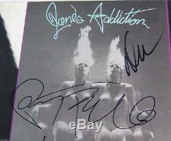 JANE'S ADDICTION Signed Autograph Nothing's Shocking Album Record LP by All 4