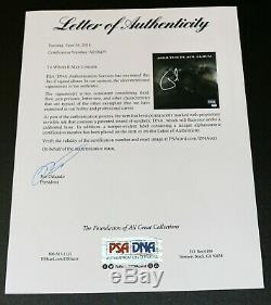 JAY-Z SEAN Carter FRAMED SIGNED THE BLACK ALBUM VINYL LP ALBUM AUTOGRAPH PSA JSA