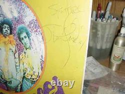 JIMI HENDRIX signed AUTOARE YOU EXPERIENCEDalbum photo cover LP coa INSCRIPTIO