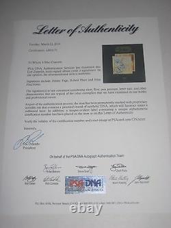 JIMMY PAGE, ROBERT PLANT & JOHN PAUL JONES Signed LED ZEPPELIN Album with PSA LOA
