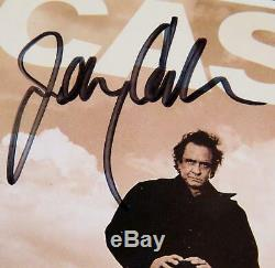 JOHNNY CASH Signed Autograph American Recordings I 14x18 CD Photo Display