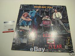 JOHN ENTWISTLE Signed The Who WHO ARE YOU Album with PSA COA