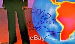 James Brown Autographed Vinyl Record Album People Coa