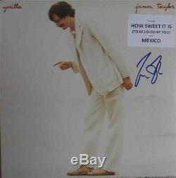 James Taylor Gorilla Autographed Signed Album LP Record Authentic JSA COA AFTAL