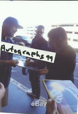 Jeff Lynne signed lp coa + Exact Proof! Traveling Wilbury autographed album ELO