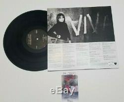Joan Jett Hand Signed Bad Reputation Vinyl Album Lp With Jsa Coa