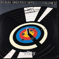 Joe Walsh Eagles Greatest Hits Vol 2 Signed Autograph Record Album JSA Vinyl
