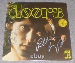 John Densmore & Robby Krieger Signed The Doors Self Titled Record Album Lp Vinyl