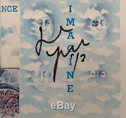 John Lennon Plastic Ono Band Shaved Fish Hand Signed By Yoko Ono Vinyl Lp Album