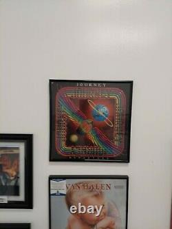 Journey Autographed Signed Departure Album Neal Schon, John Cain, Steve Perry ++