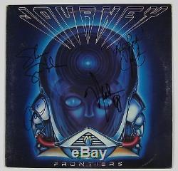 Journey Frontiers Signed Autograph Record Album JSA Vinyl