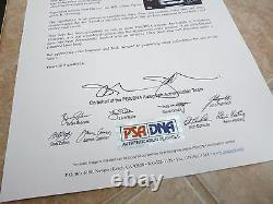 Judas Priest Hell Bent For Leather Signed Autographed LP Album x4 PSA Certified