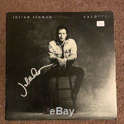 Julian Lennon signed Autographed Valotte Record Album